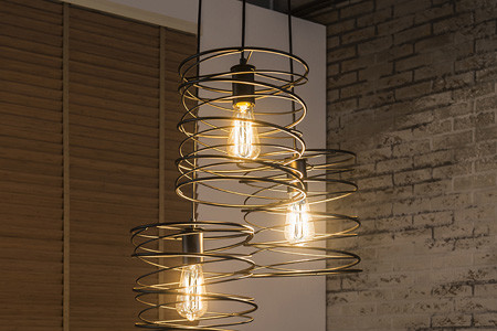 Houten Kralen Hanglamp : Hanglampen in je interieur home center inspireert