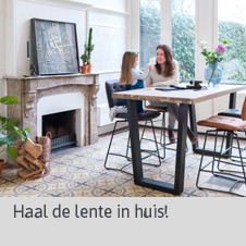 Blog Lente in huis