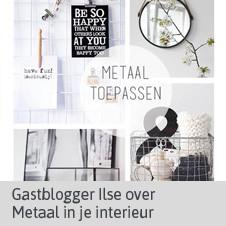 Gastblog Ilse - Metaal in je interieur