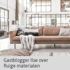 Gastblog Ilse - Ruige Materialen