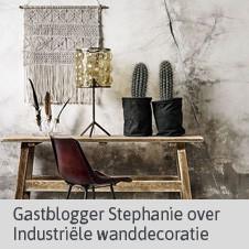 Gastblog Stephanie - Industriële Wanddecoratie