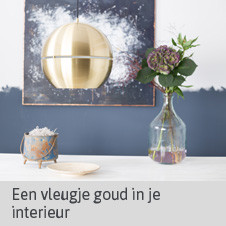 Blog Home Center Inspireert: Vleugje Goud