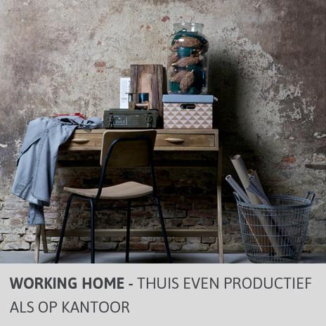 Blog Working Home - Thuis even productief als op het werk