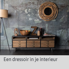 Dressoir in je interieur - blog