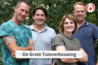 Home Center in Robs Grote Tuinverbouwing