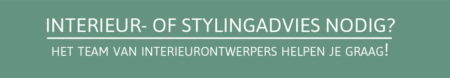 Interieur of stylingadvies nodig? Het team van interieurontwerpers helpt je graag!