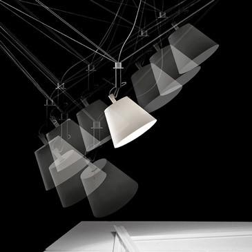 Ingo Maurer Hanglamp Da+Dort