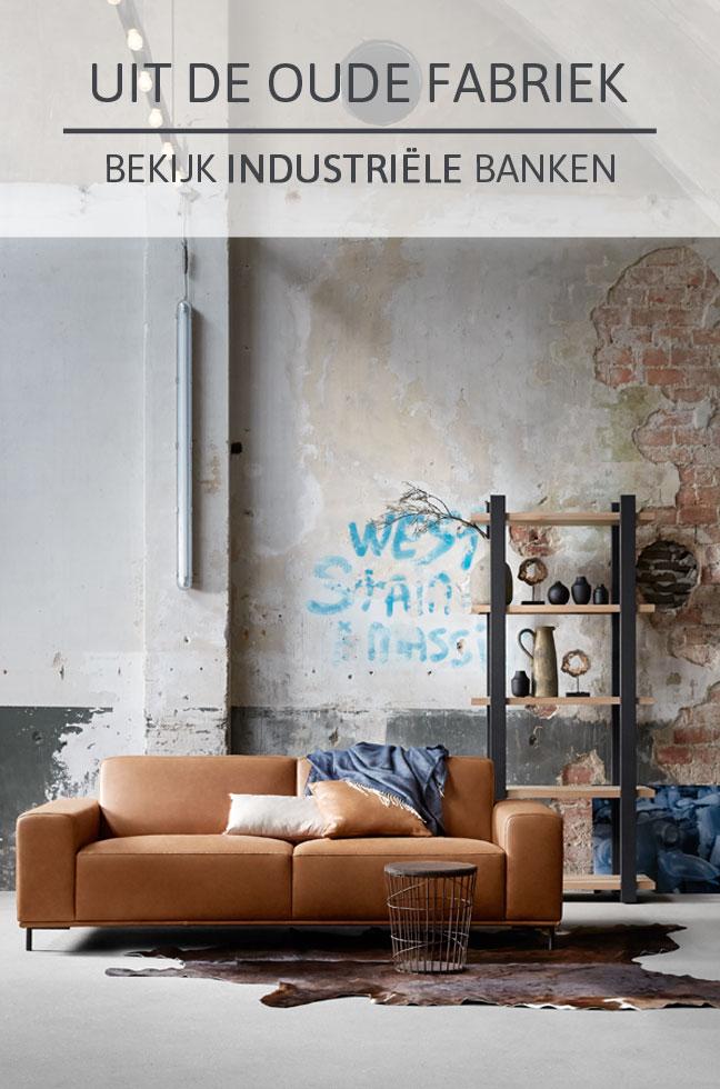 Industriële meubels bij Home Center