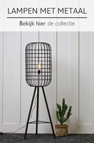 Lampen met metaal - bekijk hier de collectie