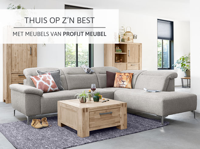 Thuis op z'n best met meubels van Profijt Meubel