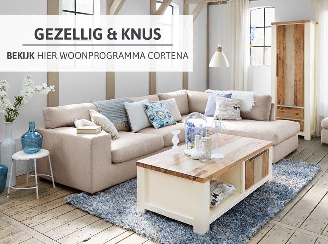 Gezellig en knus - bekijk hier woonprogramma Cortena