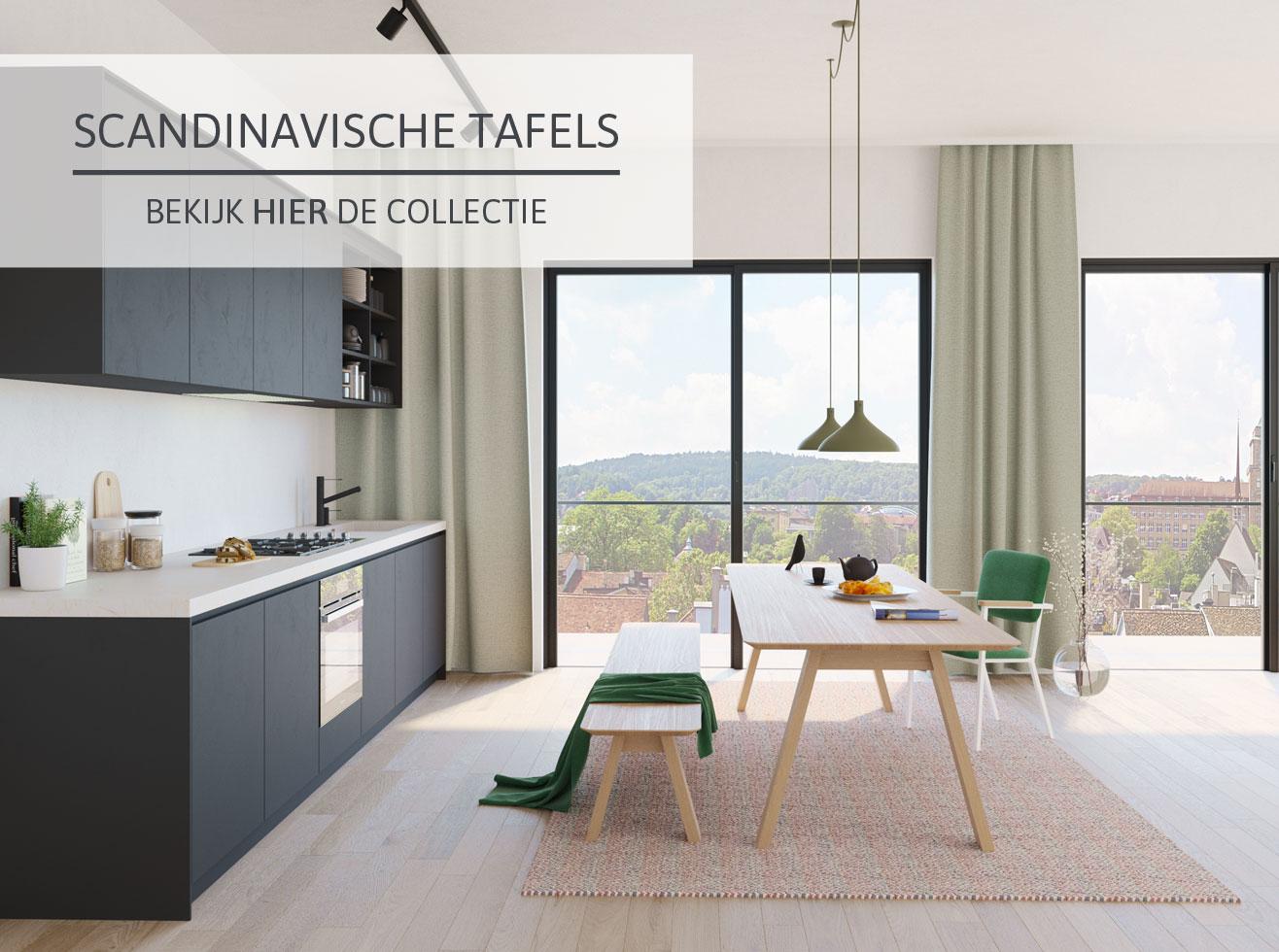 Een minimalistisch interieur met Home Center