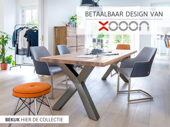 Betaalbaar design van XOOON - bekijk de collectie