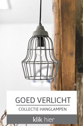 Goed verlicht - collectie hanglampen - klik hier