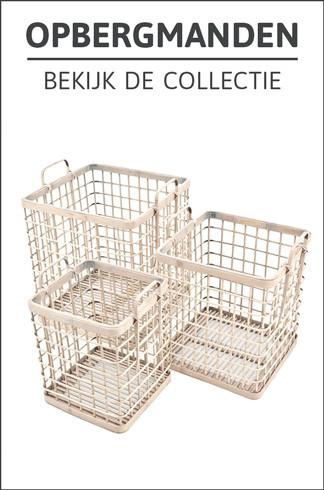 Opbergmanden - Bekijk de collectie
