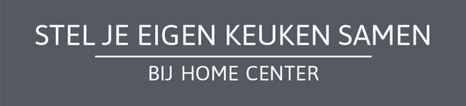 Stel je eigen keuken samen bij Home Center