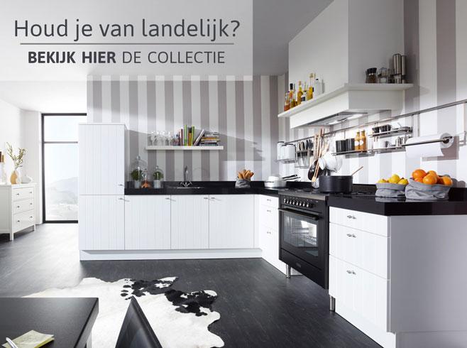 Landelijke keukens - bekijk hier de collectie